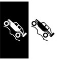 off road 4wd recreational vehicle logo vector image vector image