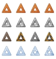 Triangular Blocks For Physics Game 2 vector image vector image
