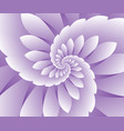 abstract purple floral background vector image vector image
