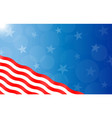 american abstract background with stars and stripe vector image vector image