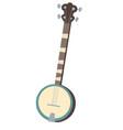 banjo american musical instrument vector image