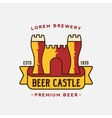 Beer Castle Logo Template vector image vector image
