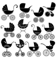 buggy set 380 vector image