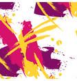 fancy brushstroke easy pattern in pink vector image vector image