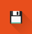 Floppy icon vector image