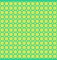 green halftone circle pattern background vector image vector image