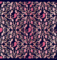 paisleys seamless pattern black floral vector image vector image