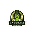 strong base ball guys mascot logo