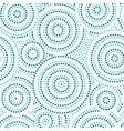Blue and white australian aboriginal geometric art vector image vector image