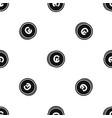 coins cruzeiro pattern seamless black vector image vector image