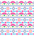mexican seamless textile pattern vector image vector image