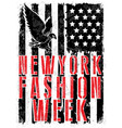 new york fashion typography t-shirt graphics vector image vector image