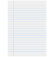 Notebook paper with lines vector | Price: 1 Credit (USD $1)