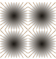 Optical art vector image vector image