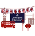 some special british event concept vector image
