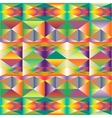 abstract multicolour polygonal background vector image vector image