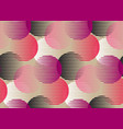 abstract round geometry shapes seamless pattern vector image vector image