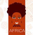 africa people sign vector image vector image