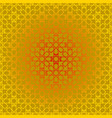 arabesque geometric seamless contour pattern vector image