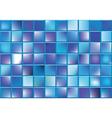 blue blocks vector image vector image