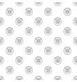 brake shoe pattern seamless vector image vector image
