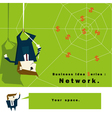 Business Idea series Network vector image vector image