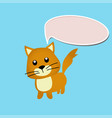 cat toy or character vector image