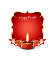 diwali background vector image vector image