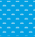 fence parade pattern seamless blue vector image vector image