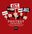 Protest Concept EPS10 vector image