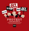 Protest Concept EPS10
