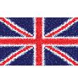 British flag gb vector image