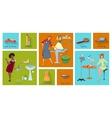 beauty spa salon service next page vector image vector image
