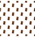 chocolate crack cookies pattern seamless vector image
