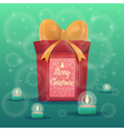 Christmas greeting card background poster Merry