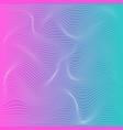 color stripe deformation background vector image vector image