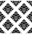 decorative damask floral seamless pattern vector image vector image