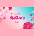 happy mother s day holiday sale vector image vector image