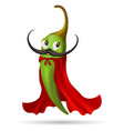 pepper cape character vector image