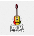 Reggae party insignia and labels for any use vector image vector image