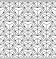seamless polygonal pattern - geometric vector image