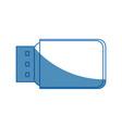 usb information backup device technology vector image vector image