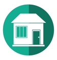 house home family residential shadow vector image