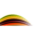 abstract flowing motion wave liquid colors mixing vector image vector image