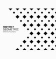 abstract geometric background with rhombuses vector image vector image
