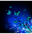 Bright Butterfly vector image
