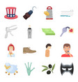 science education medicine and other web icon in vector image vector image