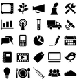 Set icons and symbols vector image