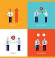 successful business teamwork partnership success vector image