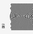 black white abstract striped background vector image vector image